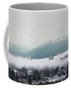 Foggy Sky Coffee Mug by Juan Contreras
