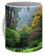 Footbridge In Japanese Garden Coffee Mug