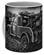 Ford F4 Tow The Truck Business End Black And White Coffee Mug