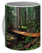 Forest Foot Bridge Coffee Mug