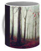 Forest In December Mist Coffee Mug