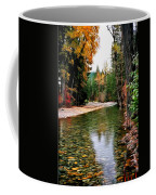 Forest With River Coffee Mug