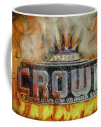 Forged In Fire - Crown - Oil Coffee Mug