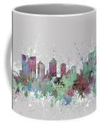 Fort Worth Skyline Artistic Pastel Coffee Mug