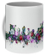 Fort Worth Skyline Floral 2 Coffee Mug