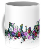 Fort Worth Skyline Floral Coffee Mug
