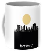Fort Worth Skyline Minimalism Coffee Mug