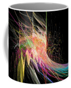 Fractal Beauty Deluxe Colorful Coffee Mug by Don Northup