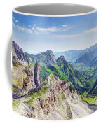 French Village In The Pyrenees Coffee Mug
