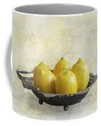 Fresh Lemons Coffee Mug