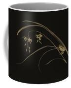 Frog And Orchid Coffee Mug