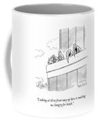 From Way Up Here Coffee Mug