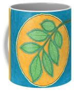 Full Moon, Leaves Coffee Mug