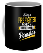 Funny Fire Fighter Gift Cool Design Coffee Mug