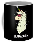 Funny Llamacorn Unicorn Alpaca Lama Coffee Mug