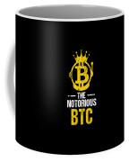 Funny The Notorious Btc Bitcoin Crypto Coffee Mug