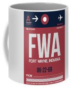 Fwa Fort Wayne Luggage Tag II Coffee Mug