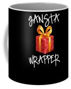 Gangsta Wrapper Funny Christmas Xmas Gift  Coffee Mug