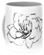 Gardenia Paint My Sketch Coffee Mug