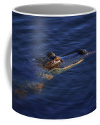 Gator And Snake Coffee Mug by Tom Claud