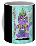 Gautama Buddha Colour Illustration Coffee Mug