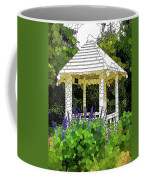 Gazebo In A Beautiful Public Garden Park 3 Coffee Mug