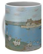 Geese By The River Loing 03 Coffee Mug