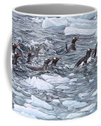 Gentoo Penguins By Alan M Hunt Coffee Mug