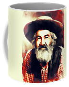 George Gabby Hayes, Vintage Actor Coffee Mug