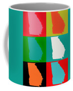 Georgia Pop Art Coffee Mug