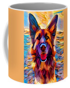 German Shepherd 8 Coffee Mug