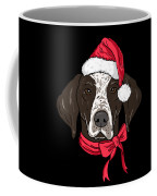 German Shorthair Xmas Hat Dog Lover Christmas Coffee Mug