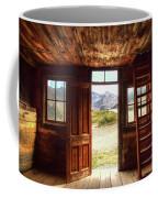 Ghost Town Cabin Coffee Mug