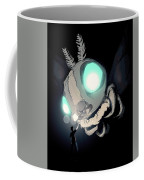 Giant Moth Vs Lamp Coffee Mug