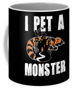 Gila Monster Halloween Venomous Lizard Pet Owner Dark Coffee Mug