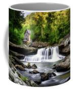 Glade Creek Grist Mill Waterfall Coffee Mug