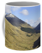 glen in highlands known as  the Rest and be Thankful Coffee Mug