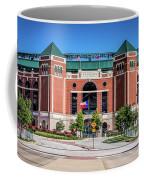 Globe Life Park In Arlington Coffee Mug by Robert Bellomy
