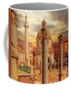 Glories Past And Present,  Rome Coffee Mug by Leigh Kemp