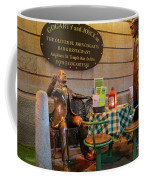 Gogarty And Joyce Statues Two Coffee Mug