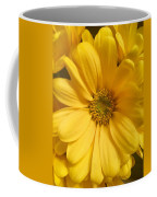 Golden Daisy Coffee Mug