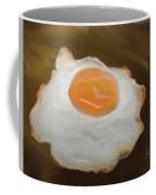 Golden Fried Egg Coffee Mug