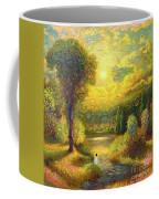 Golden Peace Coffee Mug