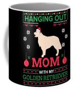 Golden Retriever Ugly Christmas Sweater Xmas Gift Coffee Mug