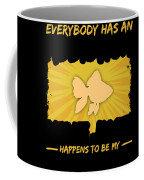 Goldfish Addiction Funny Farmer Animal Lover Coffee Mug