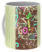 Golfing Print Press Coffee Mug