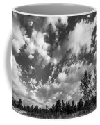 Good Harbor Shoreline Black And White Coffee Mug