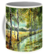 Gorgeous Water Lilies Bloom Coffee Mug