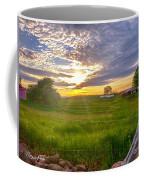 Gouveia Vineyard At Sunset  Coffee Mug