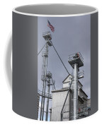 Grain And Feed Silos Bethel Vermont Coffee Mug